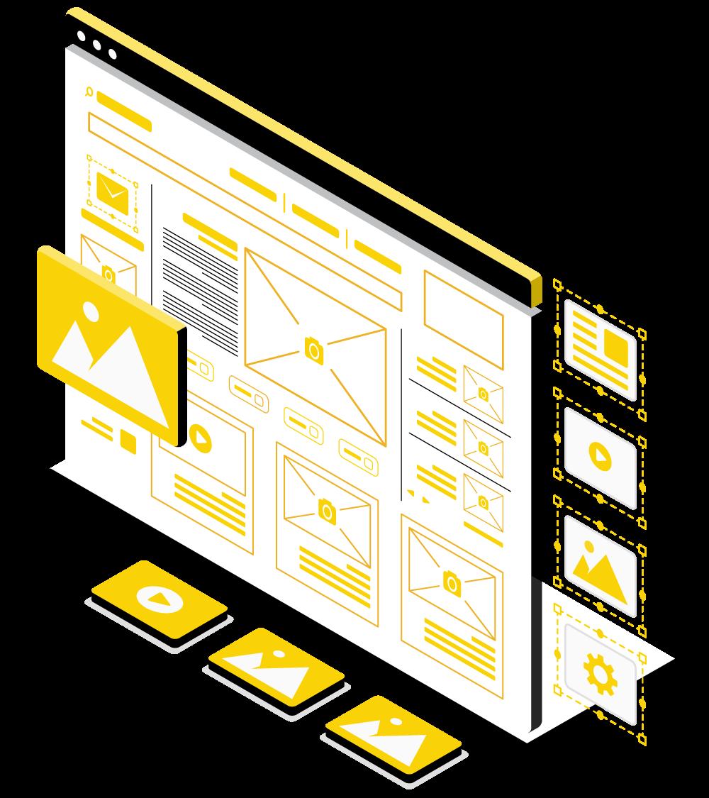 Web Header Grafik